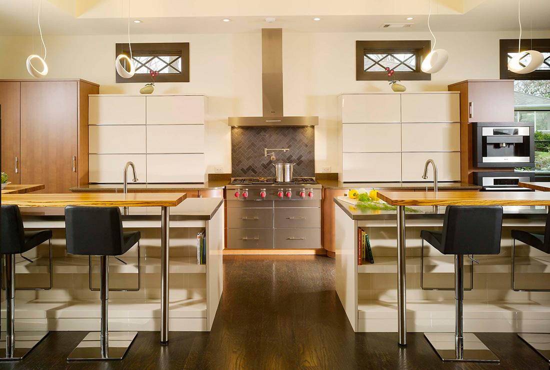 Atlanta In-Town Modern Kitchen | Contemporary Kitchen Design ...