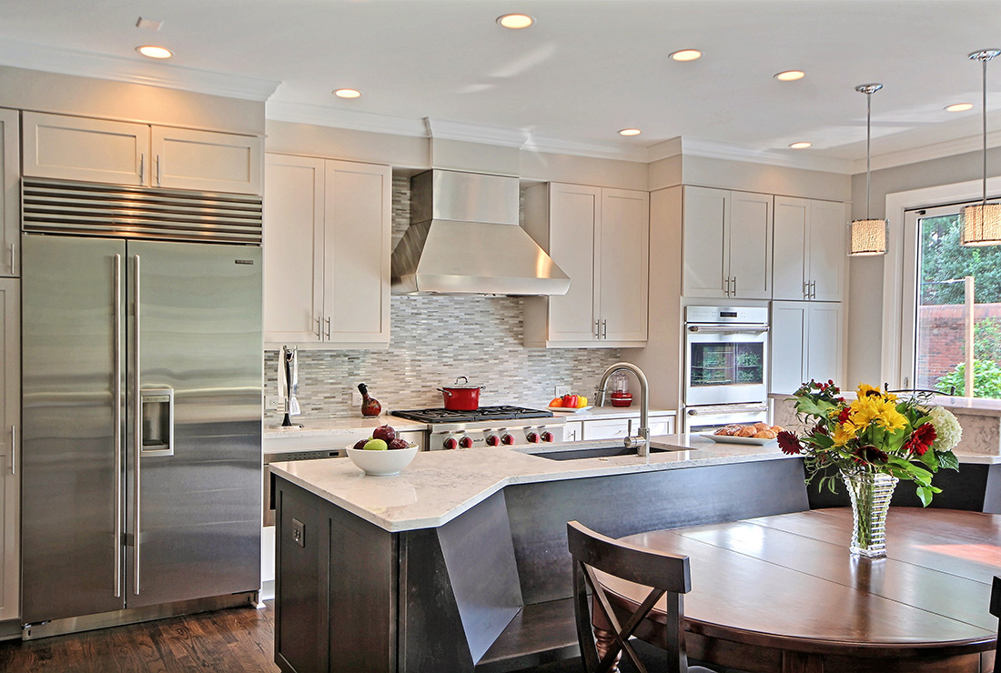 Roswell Transitional Kitchen Remodeling
