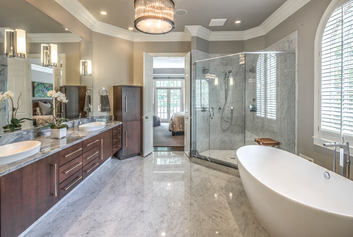 modern master bath - Design Kitchen And Bath