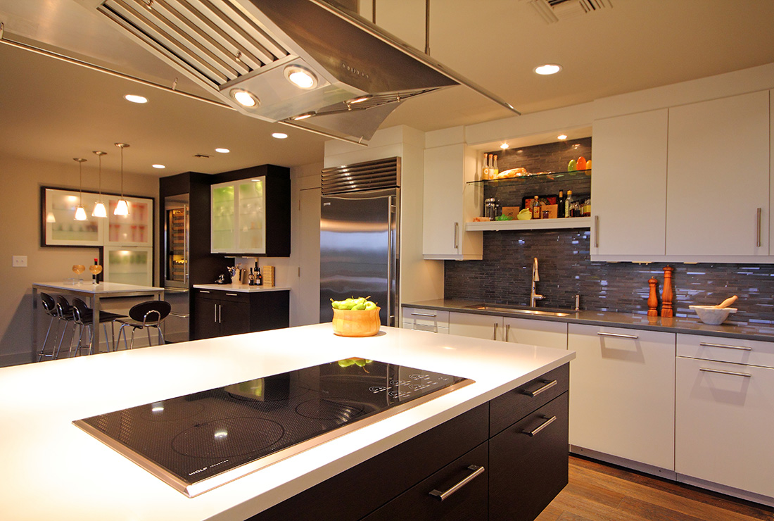 Atlanta Contemporary Remodeling Kitchen