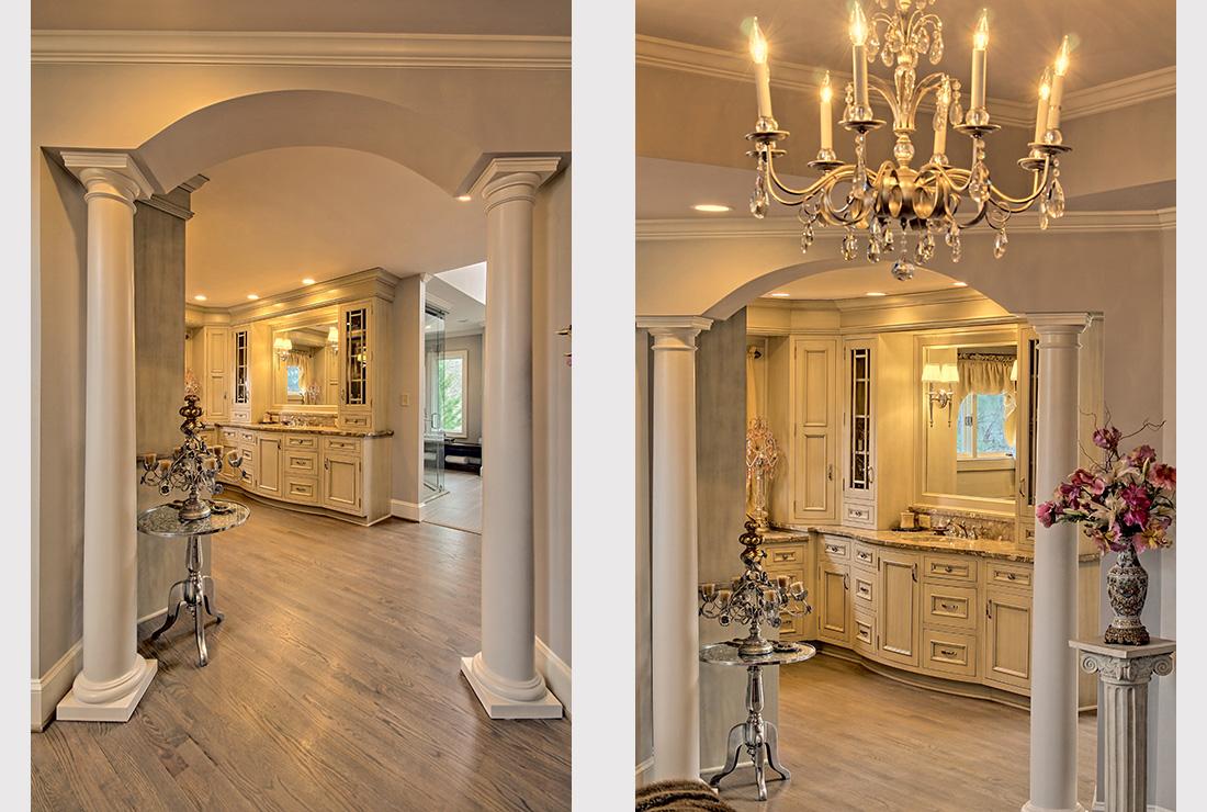 Bathroom Remodeling Into A Elegant Rutt Bath